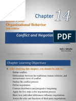 Chapter 14- Conflict and Negotiation