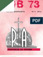 Revista Mundo Barnabita. nº 3- 2012