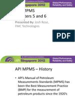 Rose_Josh API MPMS Chapters 5 and 6 Final