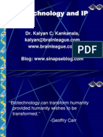 Ip and Biotech Ppt Oxford