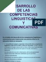 Desarrollo de Las Competencias Linguisticas y Comunicativas