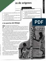 A Las Puertas Del Olimpo. Ed Santillana