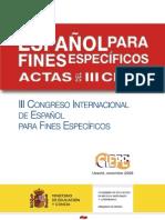 Actas III Ciefe