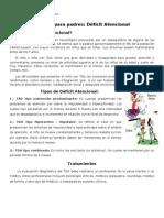 Escuela para padres Déficit Atencional.doc