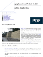 Gabion Applications