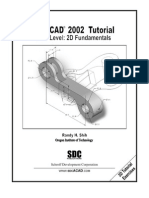 (eBook PDF) AutoCAD 2002 2D Tutorial