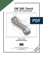 (eBook PDF) AutoCAD 2002 2D Tutorial