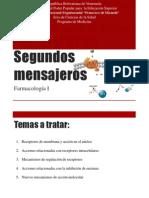 Segundos mensajeros Farmacología.pptx