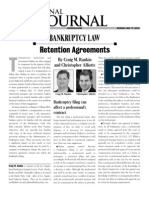 Alliotts Bankruptcy Article Retention Agreements