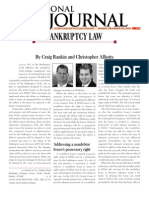 Alliotts Bankruptcy Article Bankruptcy Law