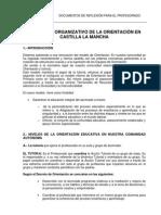 El Modelo Organizativo de Orientacion en CLM