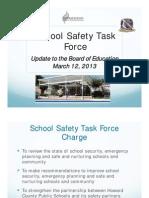 Howard School Safety Task Force