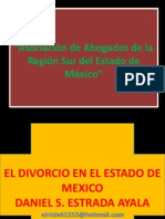 DIVORCIO INCAUSADO PRESENTACION