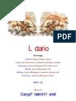 Haendel - Lotario Hwv_26