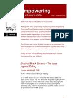 EVS Newsletter 7 Nov 2008
