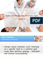 Hrm Group 8 Ppt effective team
