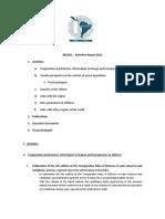 RESDAL - Informe de Actividades 2012-Eng
