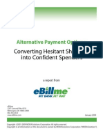 Alternative Payment Options - Converting Hesitant Shoppers Into Confident Spenders