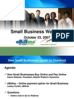 eBillme Small Business Webinar
