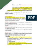 1 Resumão - Leis da Enfermagem