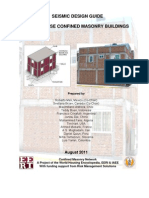 Confined Masonry Design Guide 82011
