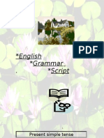 English Grammar Script