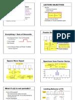 Lecture Fourier Transform