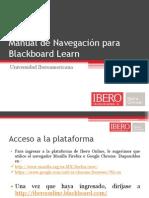 Manual de Navegación para Blackboard Learn CJF