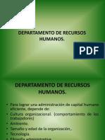 Departamento de Personal.