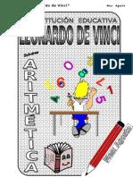 3. AGOSTO - ARITMÉTICA - 1er Año