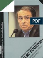 Vázquez García Francisco - Pierre Bourdieu. La sociología como crítica de la razón
