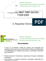 Requisitos ABNT NBR ISO 17025_5 Req Tec