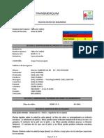 FIBRA de VIDRIO_Hoja de Datos de Seguridad