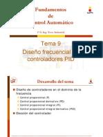 DISEÑO FRECUENCIAL DE CONTROLADORES PID