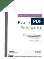 Barr R y Tagg J (1995) De la Enseñanza al Aprendizaje, un nuevo paradigma..