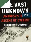 The Vast Unknown by Broughton Coburn - Excerpt