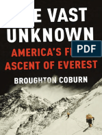 The Vast Unknown by Broughton Coburn - Excerpt