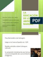 LA EDUCACIÓN DE LOS ANTIGUOS NAHUAS