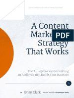 A Content Marketing Strategy That Works by Brian Clark