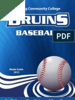 Kellogg Community College's 2013 baseball media guide