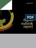 2009 Digital Outlook Report -- Razorfish Digital Marketing