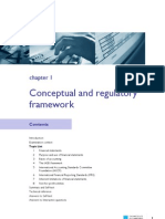Financial Accounting Conceptual and Regulatory Frame Work