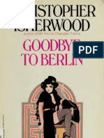 Goodbye to Berlin Christopher Isherwood