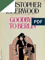 Goodbye to Berlin Christopher Isherwood