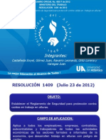 RESOLUCION 1409 DEL 2012