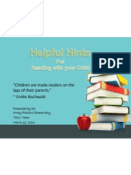power point parent night reading strategies