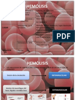 Anemia Intravascular y Extravascular