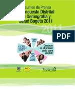 Encuesta distrital demografica 2011 (1)