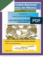 Tema i Evolucion y Natruraleza