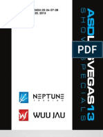 Neptune Trading / Wuu Jau Co. March ASD 2013 Flyer